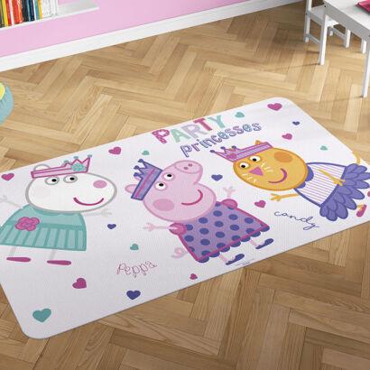 Alfombra PVC Peppa Pig Fiesta princesas montaje