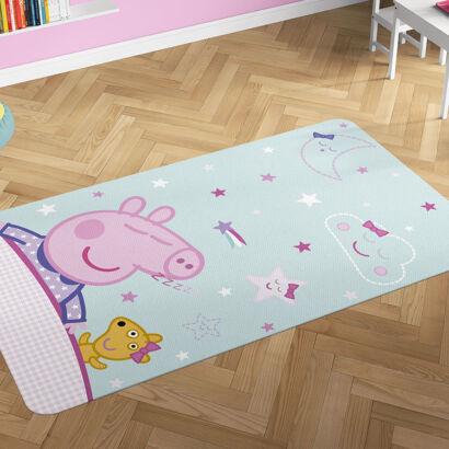 Alfombra PVC Peppa Pig Hora de Dormir montaje