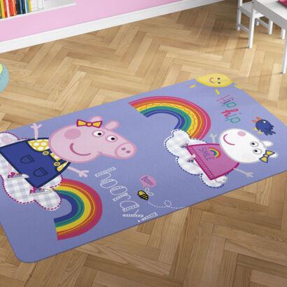 Alfombra PVC Peppa Pig y Suzi montaje