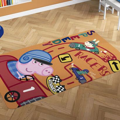 Alfombra PVC Peppa Pig George montaje