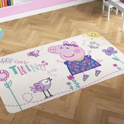 Alfombra PVC Peppa Pig Flores montaje