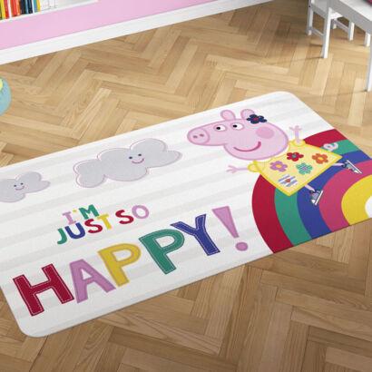 Alfombra PVC Peppa Pig Arcoiris montaje