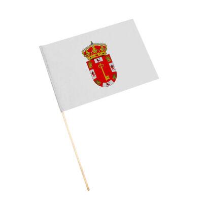 Bandera con palo Alcalá la Real