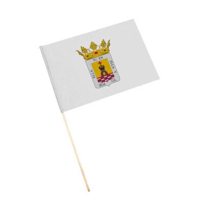 Bandera con palo Alcaudete