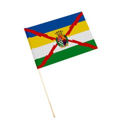 Bandera con palo Arjona