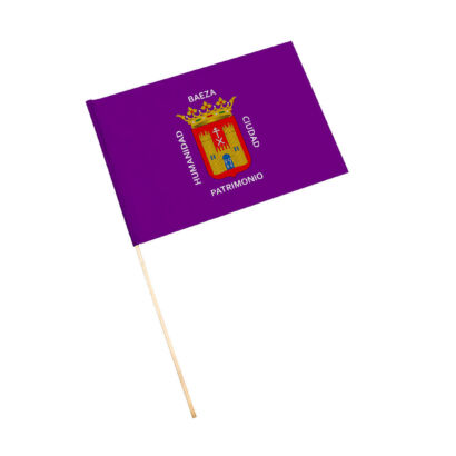 Bandera con palo Baeza