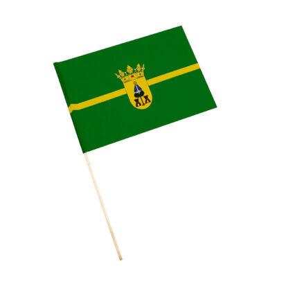 Bandera con palo Baños de la Encina