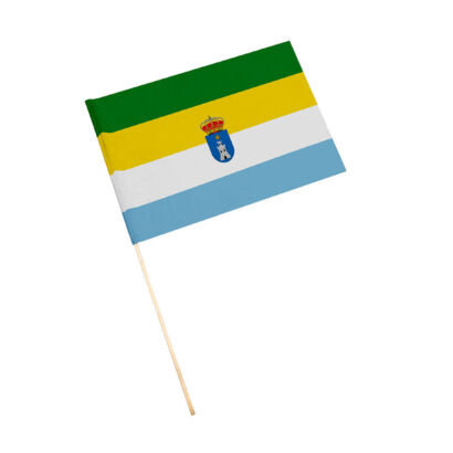 Bandera con palo Cazalilla