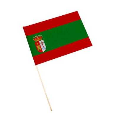 Bandera con palo El Mármol