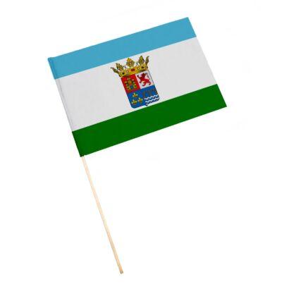 Bandera con palo Guarromán