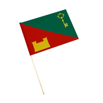 Bandera con palo Huelma