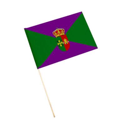 Bandera con palo Iznatoraf