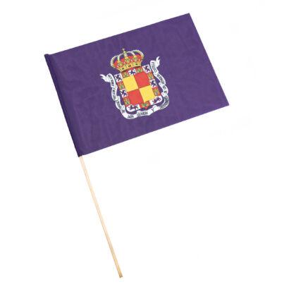 Bandera con palo Jaén Capital
