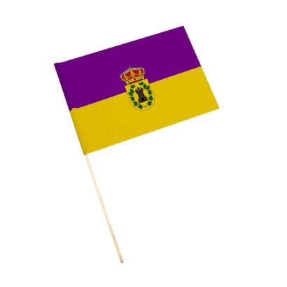 Bandera con palo Jimena