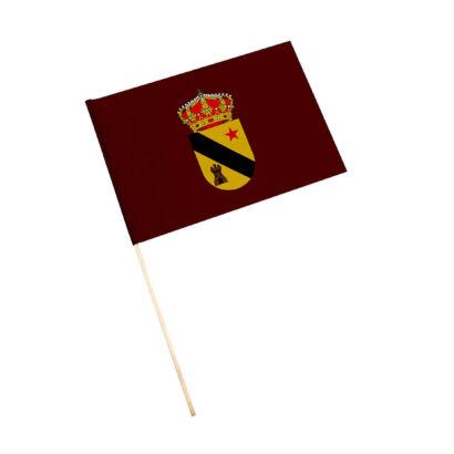 Bandera con palo Jódar