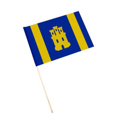 Bandera con palo La Guardia de Jaén