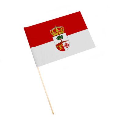 Bandera con palo Lahiguera