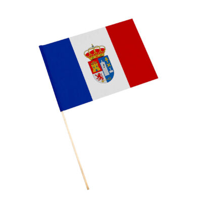 Bandera con palo Lupión