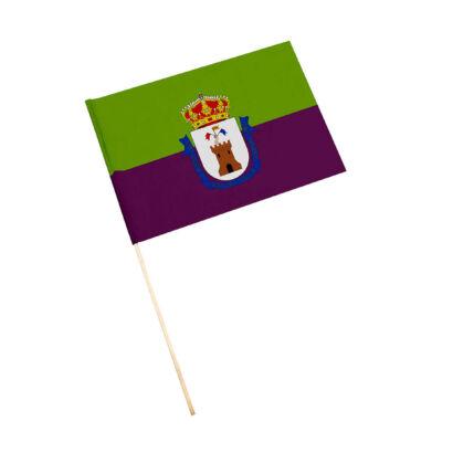 Bandera con palo Mancha Real