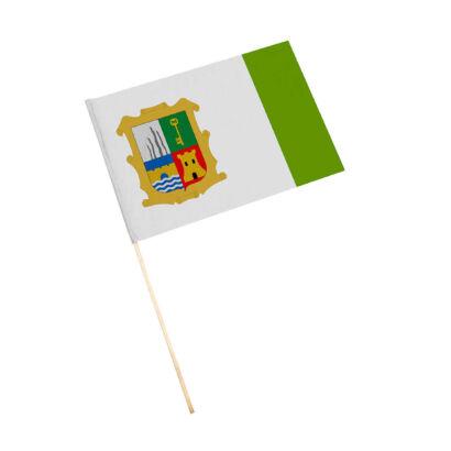 Bandera con palo Marmolejo