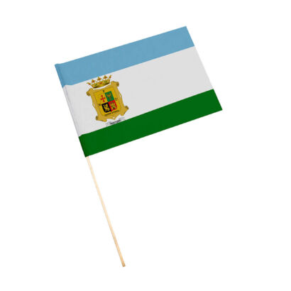Bandera con palo Montizón