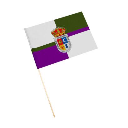 Bandera con palo Porcuna