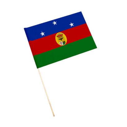 Bandera con palo Pozo Alcón