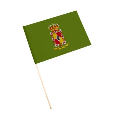 Bandera con palo provincia Jaén