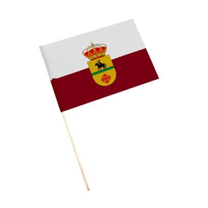 Bandera con palo Santiago de Calatrava