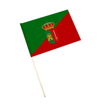 Bandera con palo Sorihuela de Guadalimar