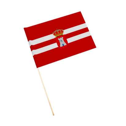 Bandera con palo Torreblascopedro