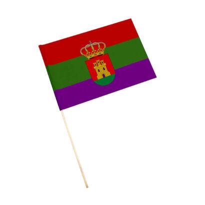 Bandera con palo Torredelcampo