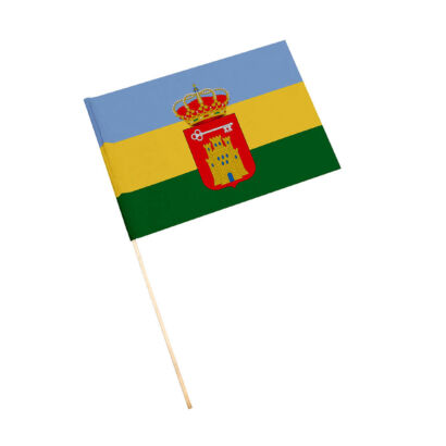 Bandera con palo Villacarrillo