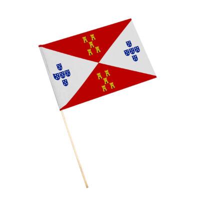Bandera con palo Villadompardo