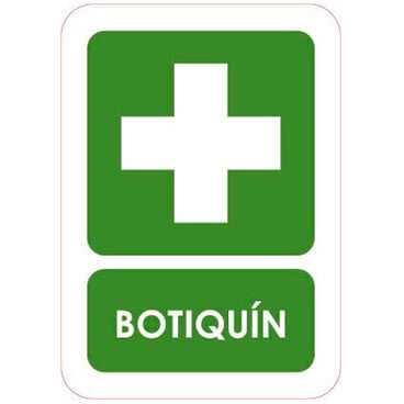 Señal Botiquin
