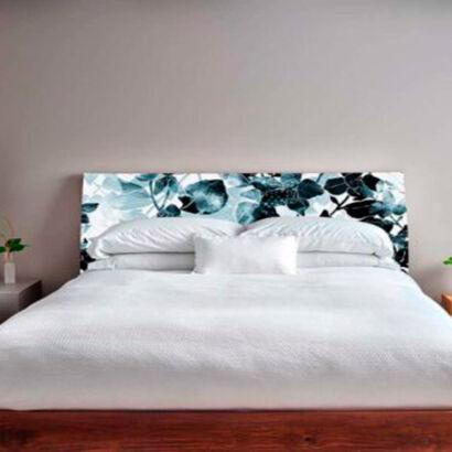 cabecero-cama-floral-azul