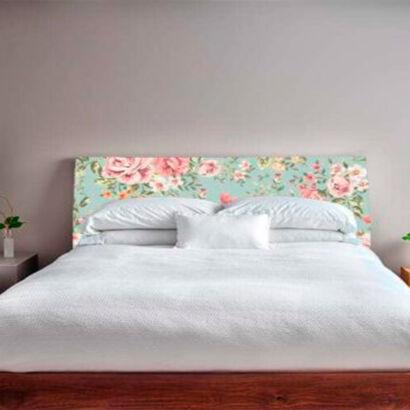 cabecero-cama-flores-vintage