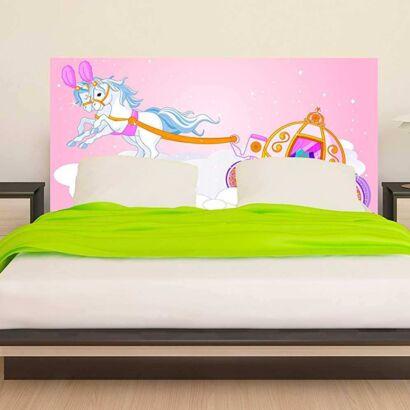 cabecero cama infantil carroza