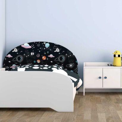 Cabecero Cama Infantil Planetas Espaciales