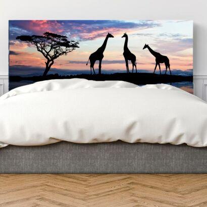 cabecero-cama-jirafas-sabana-cabecero