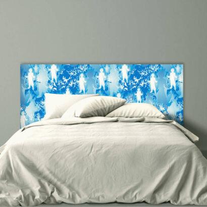 Cabecero Cama PVC goku azul montaje