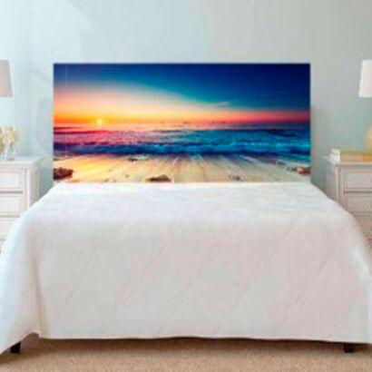 cabecero-cama-playa-olas