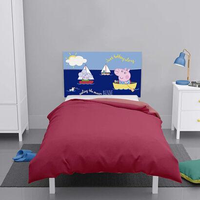 Cabecero cama Peppa Pig George y Edmon