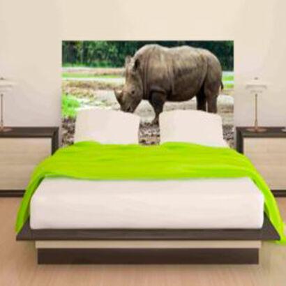 cabecero-cama-rinoceronte-salvaje