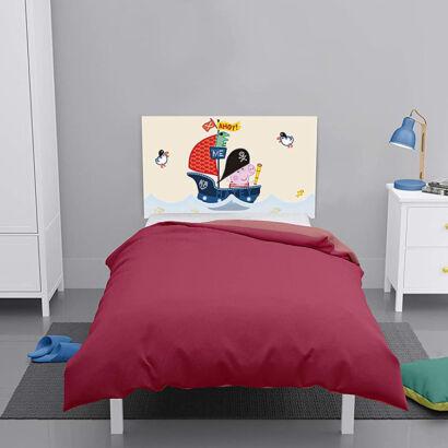 Cabecero cama Peppa Pig George Navegando