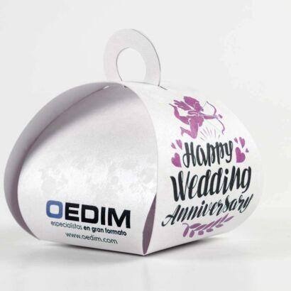 Caja Regalo para Bodas Happy Wedding Anniversary