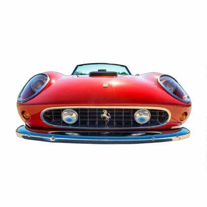 Photocall Coche Deportivo Ferrari Rojo