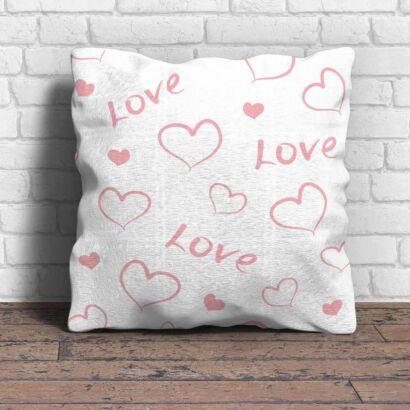 Cojín Enamorado Corazones Love