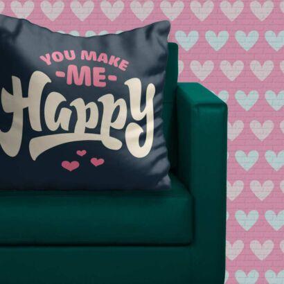 Cojín Enamorado Hacerte Feliz