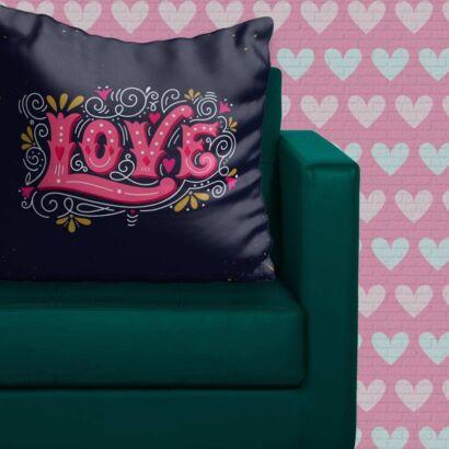 Cojín Frases Amor Moderno